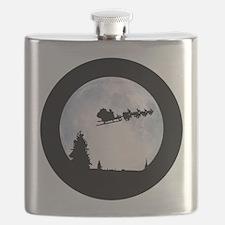 Christmas Moon Flask