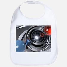 Abstract Camera Lens Bib