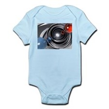 Abstract Camera Lens Infant Bodysuit