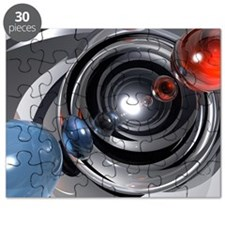 Abstract Camera Lens Puzzle