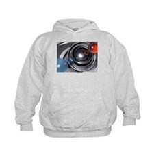 Abstract Camera Lens Hoodie