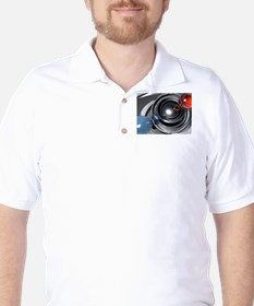 Abstract Camera Lens T-Shirt