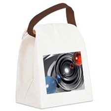 Abstract Camera Lens Canvas Lunch Bag