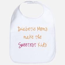 Diabetic Moms Make the Sweetest Kids Bib