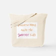 Diabetic Moms Make the Sweetest Kids Tote Bag