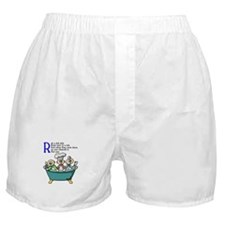 Rub A Dub Boxer Shorts