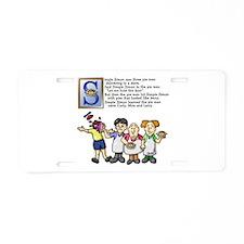 Simple Simon Aluminum License Plate