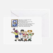 Simple Simon Greeting Card