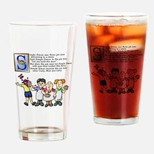 Simple Simon Drinking Glass
