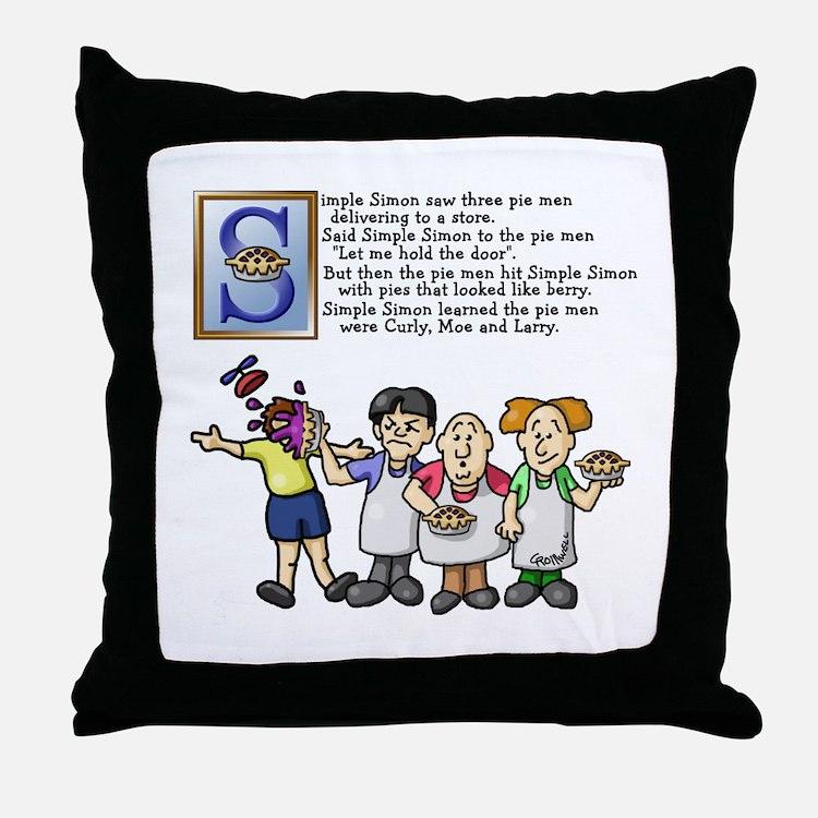 Simple Simon Throw Pillow