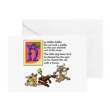 Hey Diddle Greeting Card