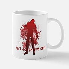 He's got an arm off! Mug