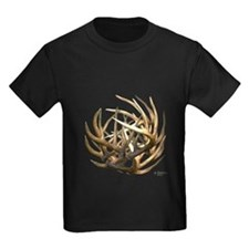 Whitetail Buck Deer Antler Art Cluster T