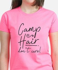 Camp Hair Don't Care Tee