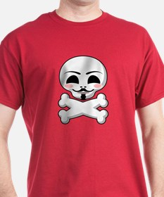 Guy Fawkes Vendetta Red T-Shirt