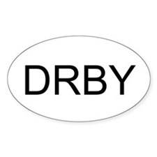 Roller Derby DRBY Decal