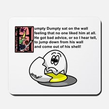 Humpty Dumpty Mousepad