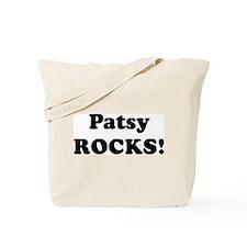 Patsy Rocks! Tote Bag