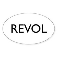 Revol Oval Decal