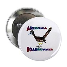"Arizona Roadrunner 2.25"" Button"