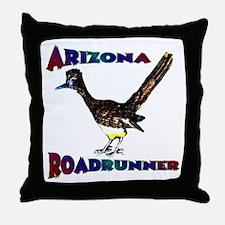 Arizona Roadrunner Throw Pillow
