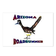 Arizona Roadrunner Postcards (Package of 8)
