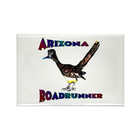 Arizona Roadrunner Rectangle Magnet (10 pack)