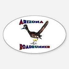 Arizona Roadrunner Oval Decal