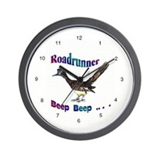 Arizona Roadrunner Wall Clock