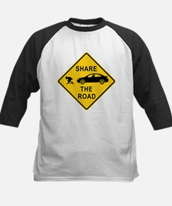 Share the road Kids Baseball Jersey