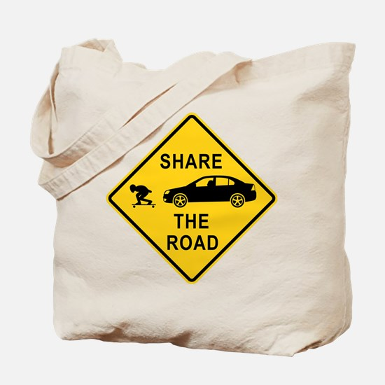 Share the road Tote Bag