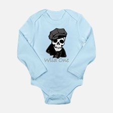 Wild One-3 Long Sleeve Infant Bodysuit