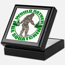 Rather be Squatchin G Keepsake Box
