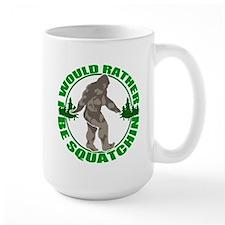 Rather be Squatchin G Mug