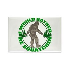 Rather be Squatchin G Rectangle Magnet (100 pack)