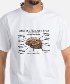 Atlas of a Plumbers Brain.PNG Shirt
