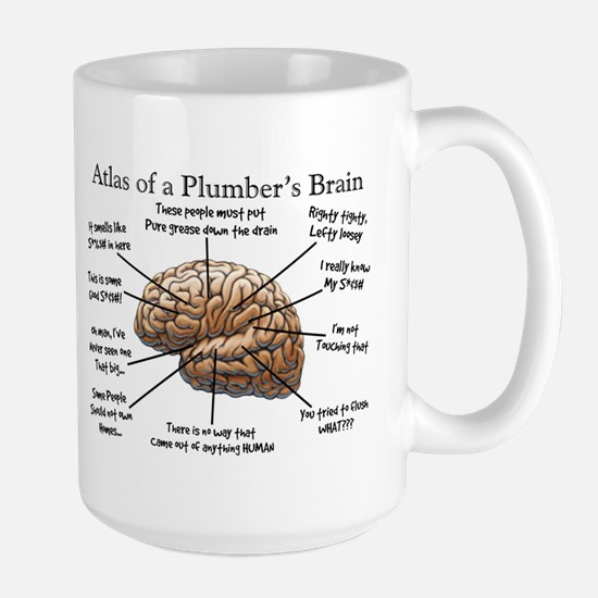 Atlas of a Plumbers Brain.PNG Large Mug