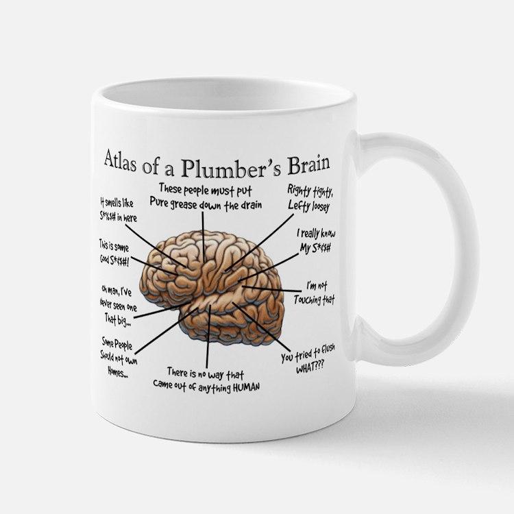 Atlas of a Plumbers Brain.PNG Mug