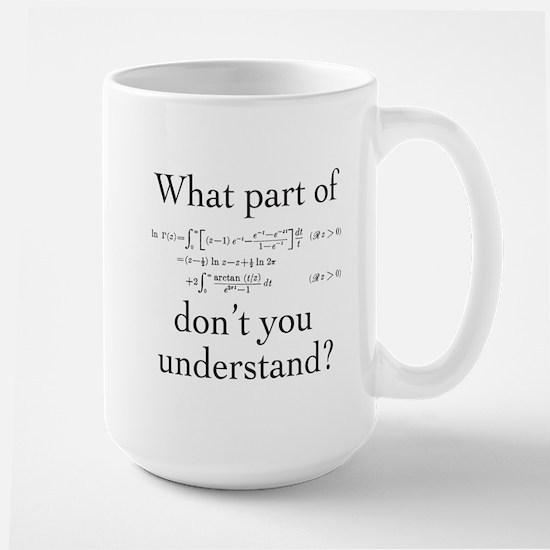 What Part of... Large Mug