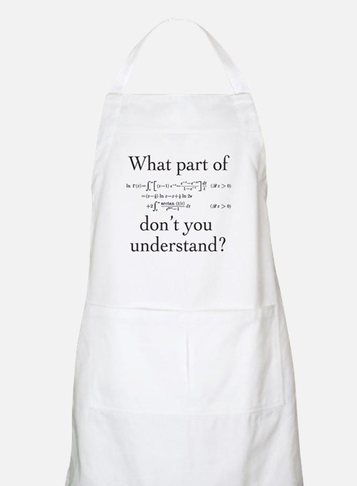 What Part of... Apron