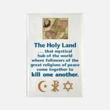 Holy Land Rectangle Magnet