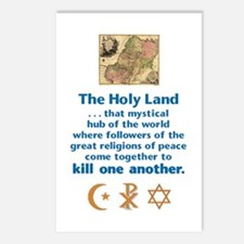 Holy Land Postcards (Package of 8)