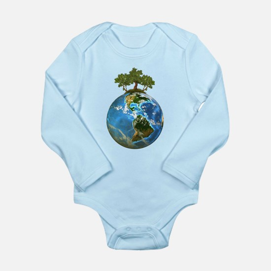 Protect Our Nature Long Sleeve Infant Bodysuit