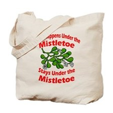 Under the Mistletoe Tote Bag
