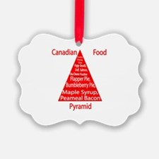 Canadian Food Pyramid Ornament