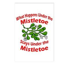Under the Mistletoe Postcards (Package of 8)