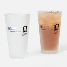 Pierre de Fermats last theorem Drinking Glass