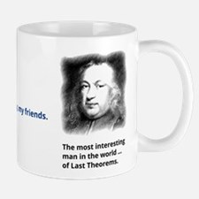 Pierre de Fermats last theorem Mug