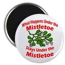Under the Mistletoe Magnet