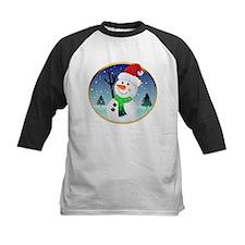 Snowman Santa Tee